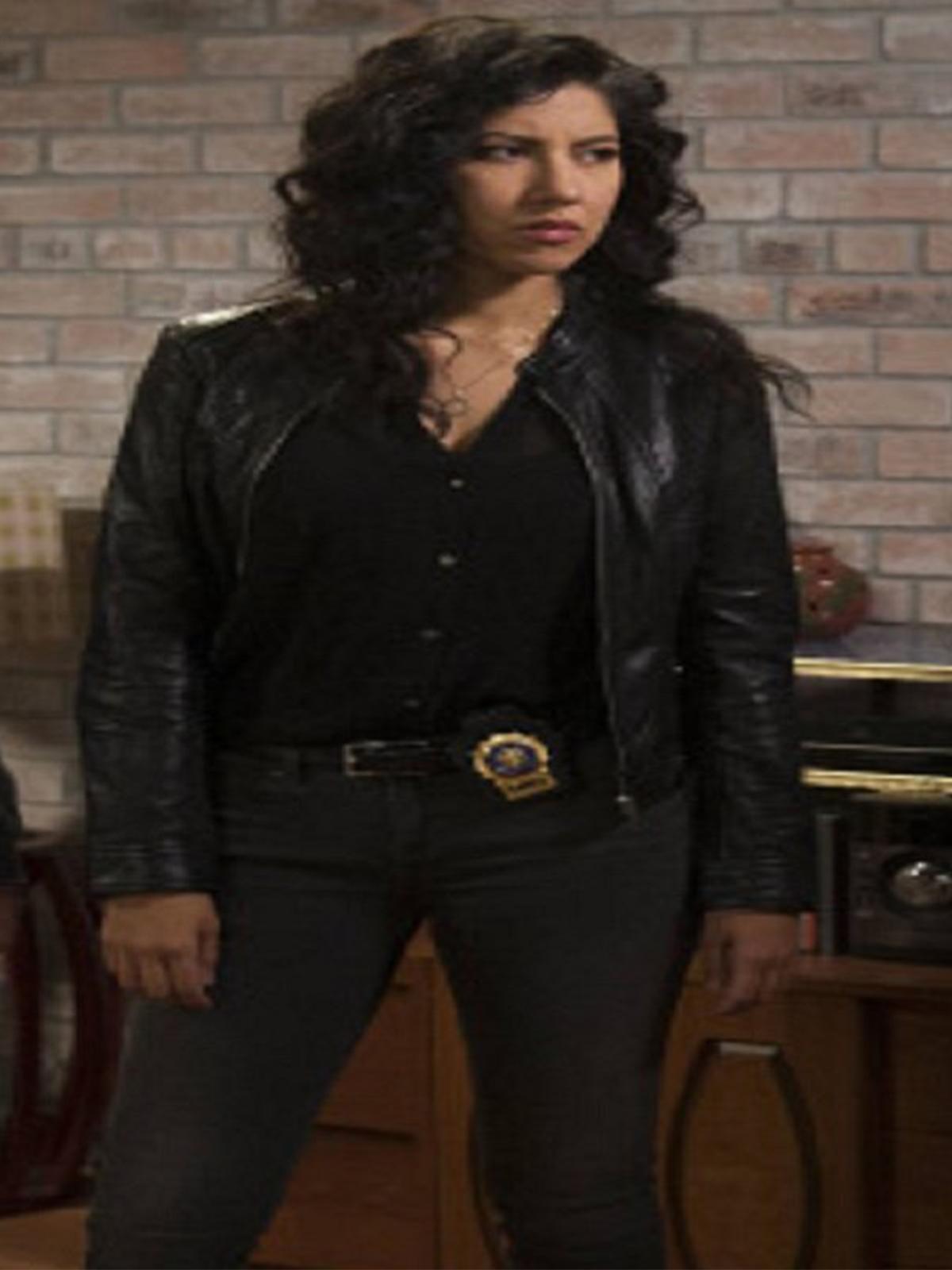 Rosa Diaz Brooklyn Nine Nine Leather Jacket-Mjacket.com